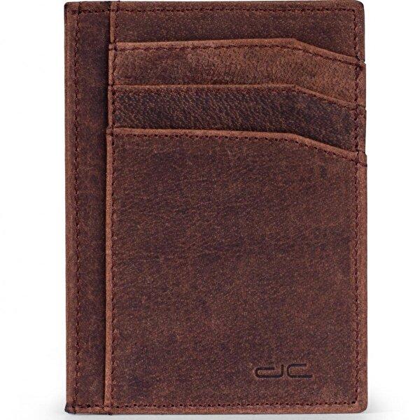 Deri Company Erkek Hakiki (Gerçek) Deri Kartlık Antik Kahverengi (903-WT) 114504