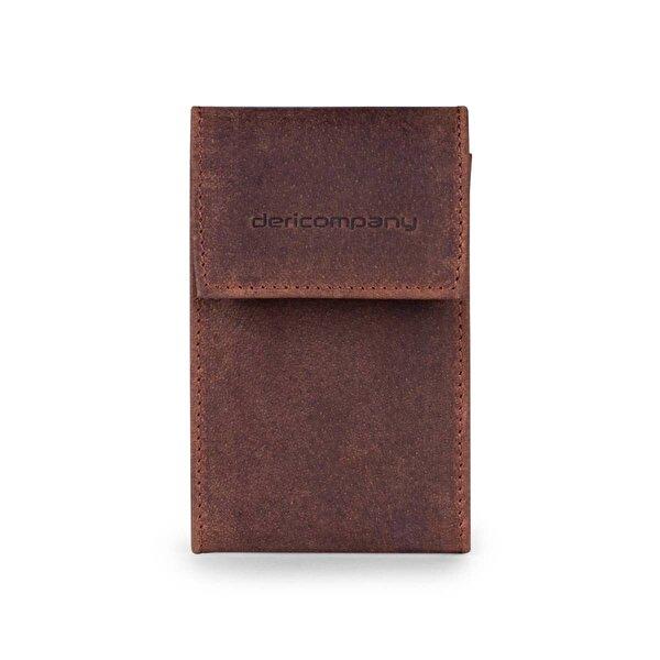 Deri Company Erkek Hakiki (Gerçek) Deri Kartlık Antik Kahverengi (906-WT) 114504