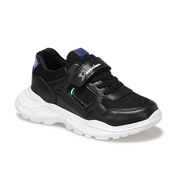 Seventeen KORİ 1FX Siyah Kız Çocuk Fashion Sneaker