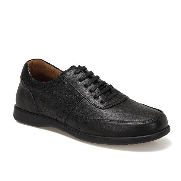 Polaris 5 Nokta 102495.M1FX Siyah Erkek Klasik Ayakkabı