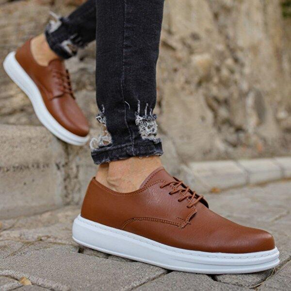 Chekich CH003 BT Erkek  Sneaker Ayakkabı TABA