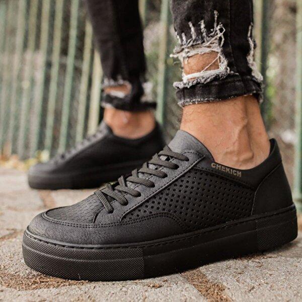 Chekich CH015 ST Erkek  Sneaker Ayakkabı SIYAH