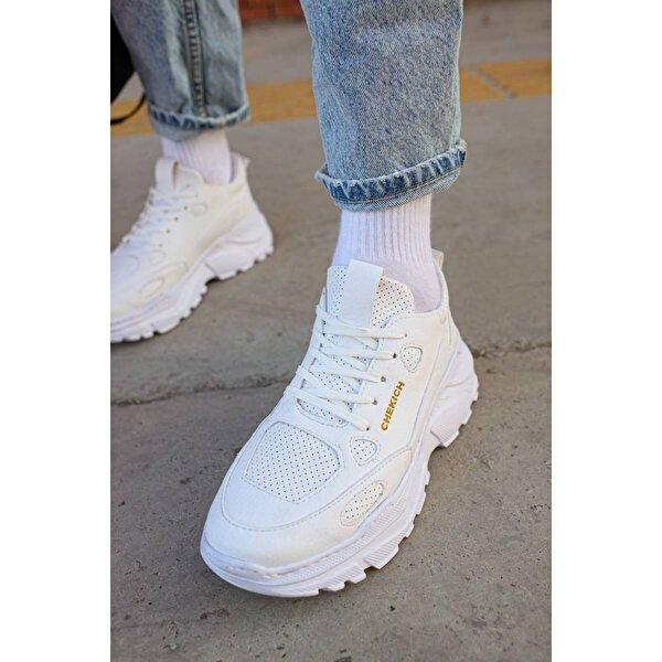 Chekich CH089 BT Erkek  Sneaker Ayakkabı BEYAZ