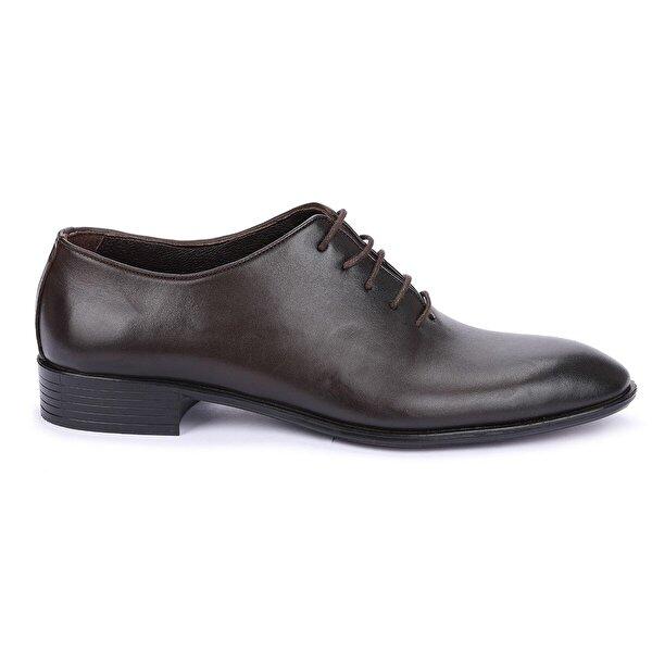 AYAKLAND P100 %100 Deri Klasik Erkek Ayakkabı Kahverengi