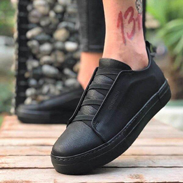 Chekich CH013 ST  Erkek  Sneaker Ayakkabı SIYAH