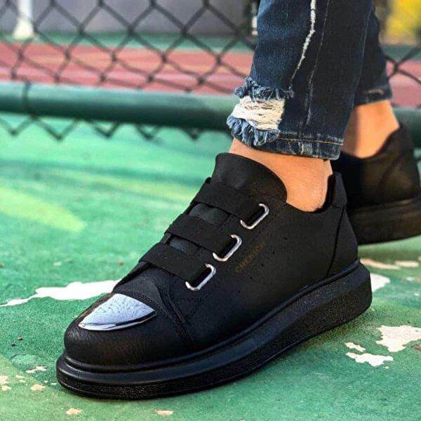 Chekich CH251 ST Erkek  Sneaker Ayakkabı SIYAH