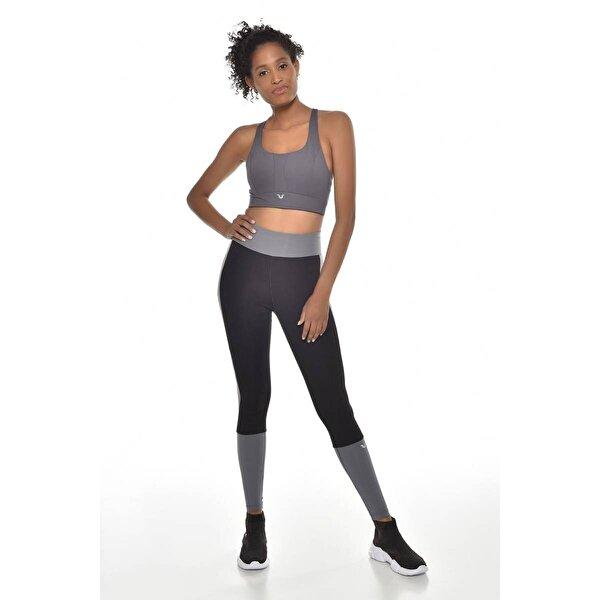 Bilcee Siyah Kadın Tayt GW-9202