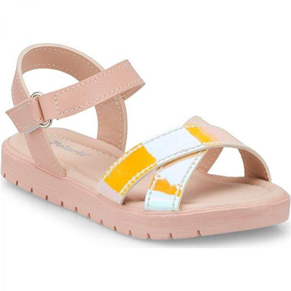 Polaris 512475 Ortapedik Pembe Kız Çocuk Sandalet