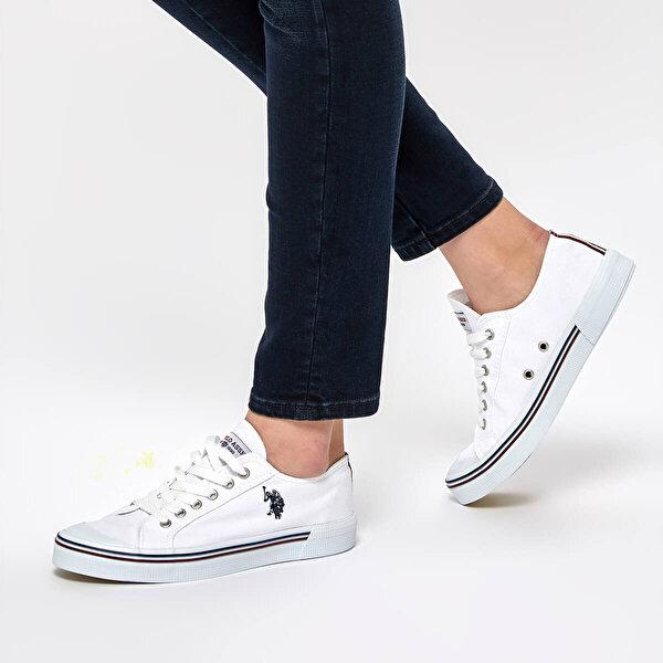 U.S. Polo Assn. PENELOPE Beyaz Kadın Sneaker Ayakkabı