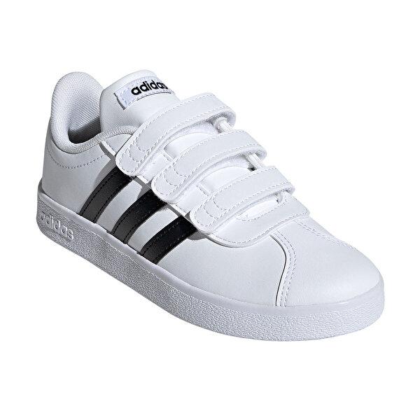 adidas VL COURT 2.0 CMF Beyaz Unisex Çocuk Sneaker Ayakkabı