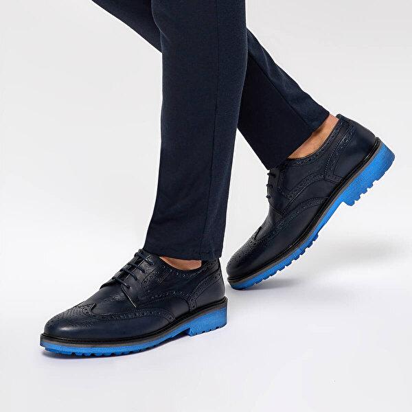Mercedes RAHAL Lacivert Erkek Ayakkabı