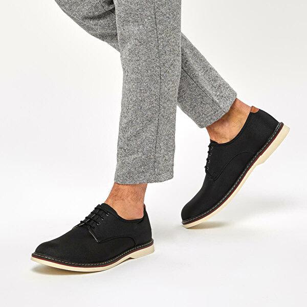 JJ-Stiller 61120 C Siyah Erkek Ayakkabı