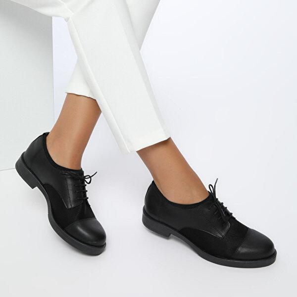Miss F DS17037-19S Siyah Kadın Gova Ayakkabı
