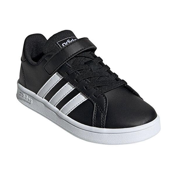 adidas GRAND COURT Siyah Unisex Çocuk Sneaker Ayakkabı