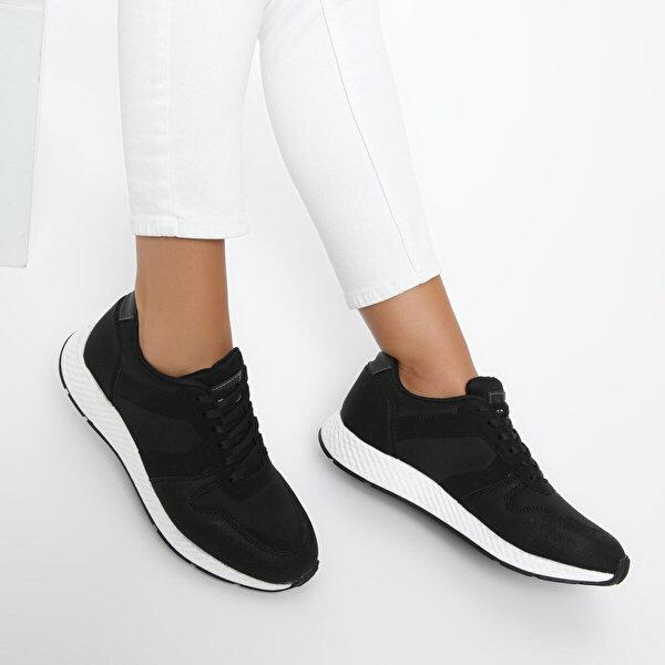 Kinetix BROOK W Siyah Kadın Spor Ayakkabı