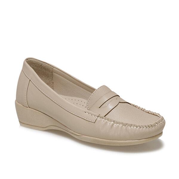 Polaris 161627.Z1FX Bej Kadın Loafer Ayakkabı