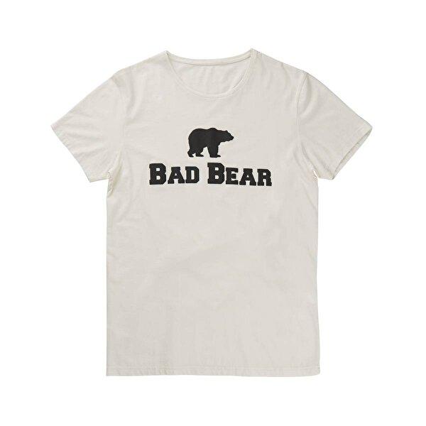 Bad Bear ERKEK BAD BEAR KIRIK BEYAZ TİŞÖRT