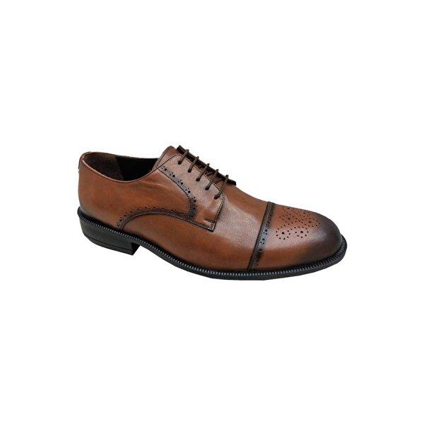 FOSCO 6416 Hakiki Deri Büyük Ayaklara Erkek Ayakkabı