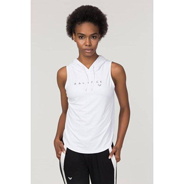 Bilcee Beyaz Kadın Antrenman Atlet FS-1203