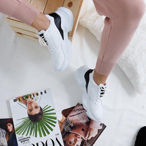 Limoya Krystal Beyaz Sneakers