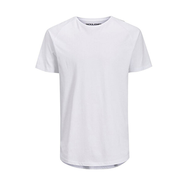 Jack & Jones JJECURVED TEE SS O-NECK N Beyaz Erkek T-Shirt