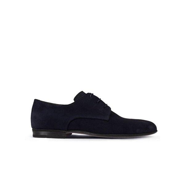 Deery Hakiki Süet Lacivert Klasik Erkek Ayakkabı