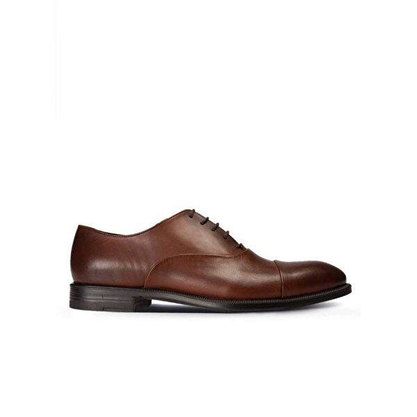 Deery Hakiki Deri Taba Rengi Klasik Erkek Ayakkabı