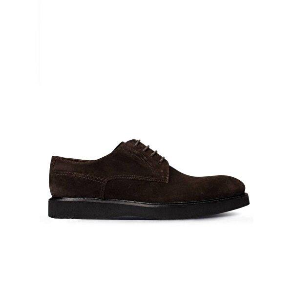 Deery Hakiki Süet Kahverengi Günlük Erkek Ayakkabı