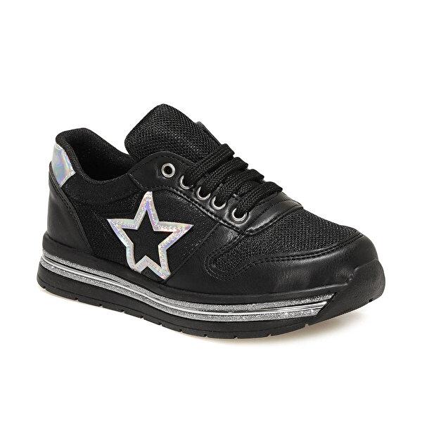 Seventeen YARE 1FX Siyah Kız Çocuk Spor Ayakkabı