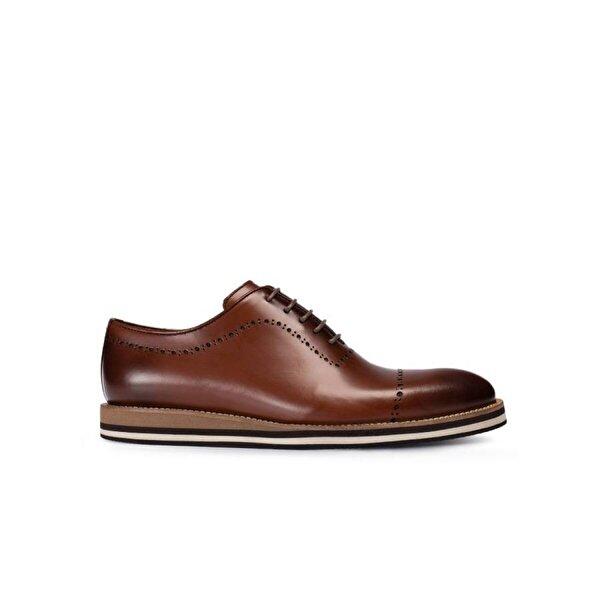 Deery Hakiki Deri Kahverengi Günlük Erkek Ayakkabı