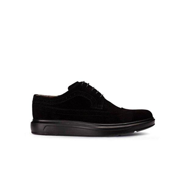 Deery Hakiki Süet Siyah Comfort Günlük Erkek Ayakkabı
