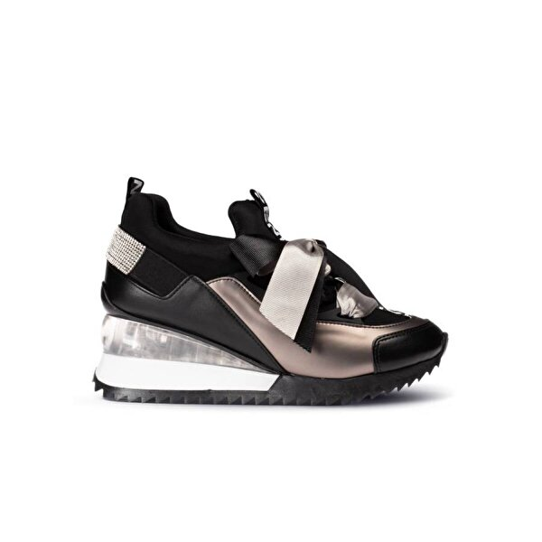 Deery Siyah Sneaker Kadın Ayakkabı