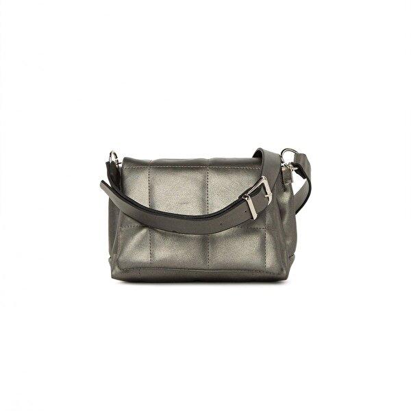 Bagmori Kare Nakışlı Mini Çanta