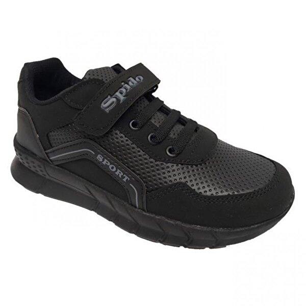 Spido Kids 001 Deri Filet Çocuk Spor Ayakkabı
