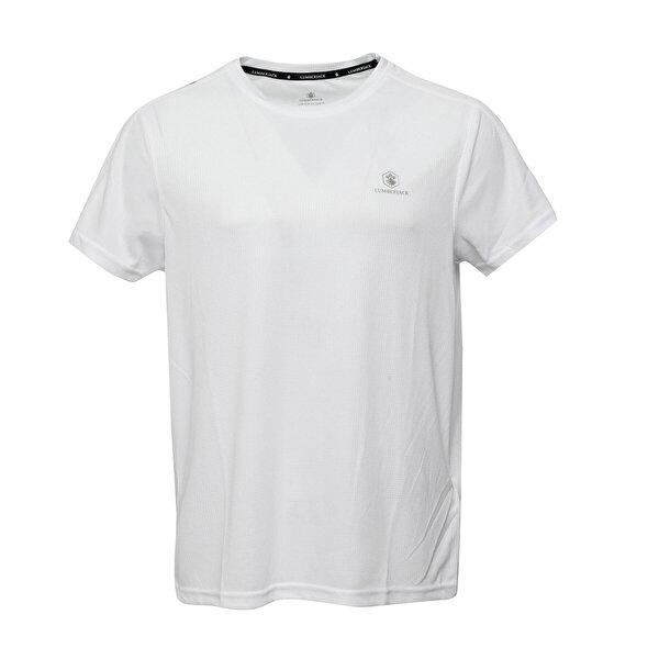 Lumberjack CT177 LEON BASIC T-SHIRT Beyaz Erkek T-Shirt