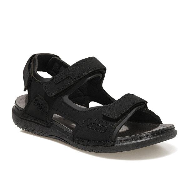 Polaris 400677.M1FX Siyah Erkek Sandalet