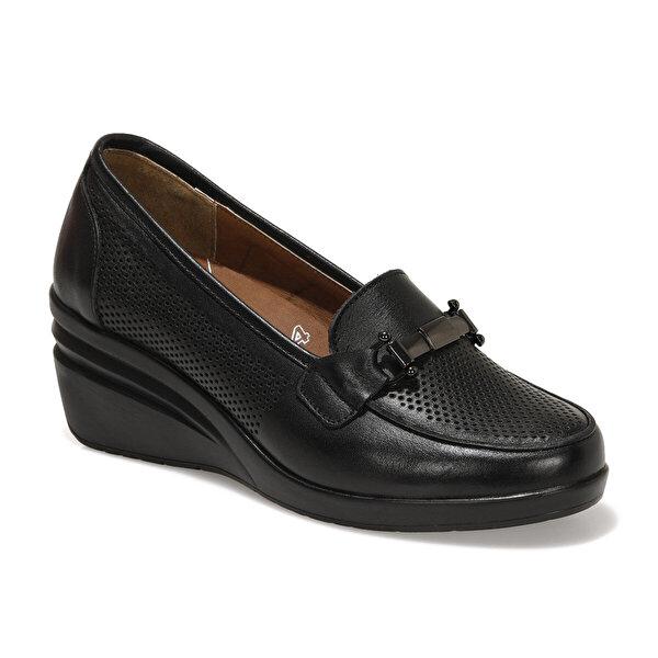 Polaris 5 Nokta 103243.Z1FX Siyah Kadın Klasik Ayakkabı