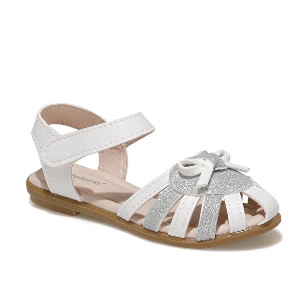 Polaris 615235.P1FX Beyaz Kız Çocuk Sandalet