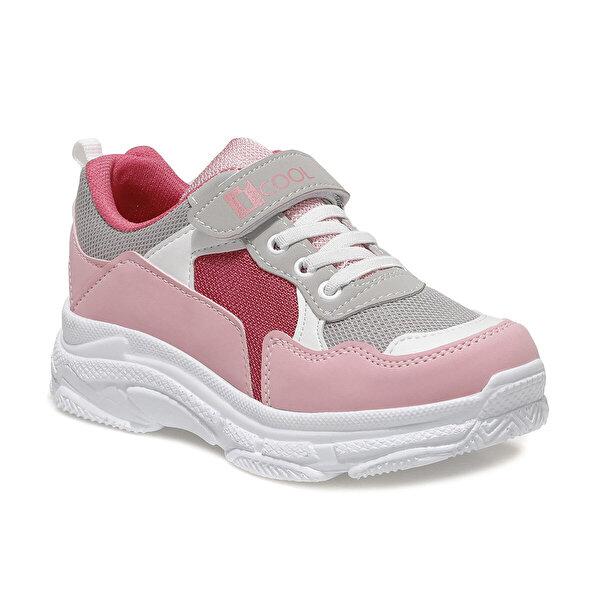 I Cool TOMY 1FX Pembe Kız Çocuk Yürüyüş Ayakkabısı