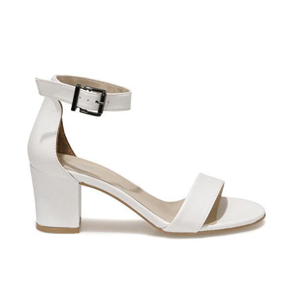 Butigo S1100-19IY1FX Beyaz Kadın Topuklu Ayakkabı