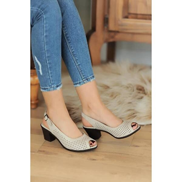 Pembe Potin A610-20  Kadın sandalet A610-20