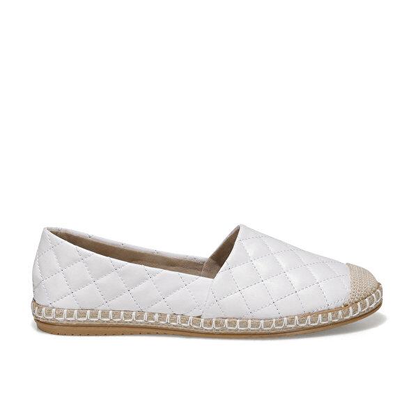 Butigo YALE 1FX Beyaz Kadın Espadril Ayakkabı