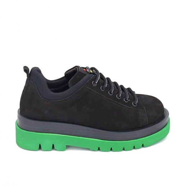 Bestello Bağcıklı Poliüretan Taban Casual 101-206626-05 Kadın Ayakkabı