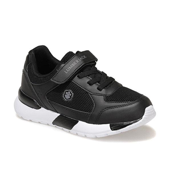 Lumberjack VOLVER JR 1FX Siyah Erkek Çocuk Sneaker Ayakkabı