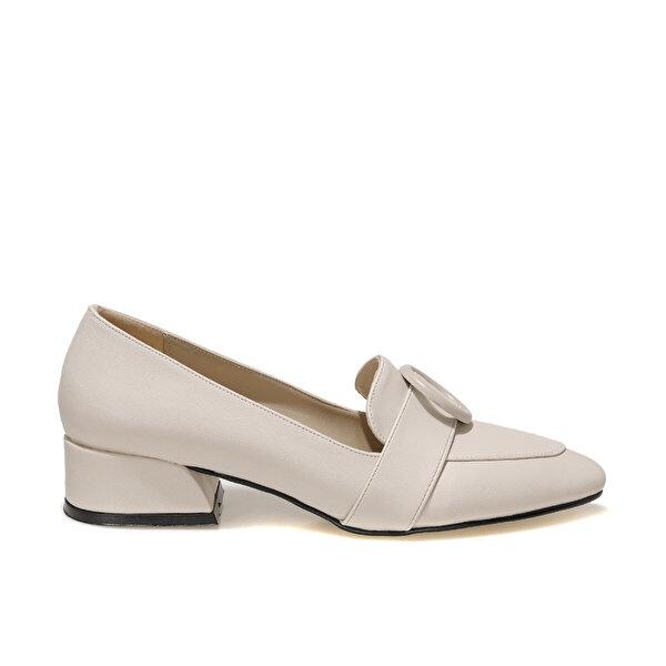 Butigo JENNY 1FX Bej Kadın Loafer Ayakkabı