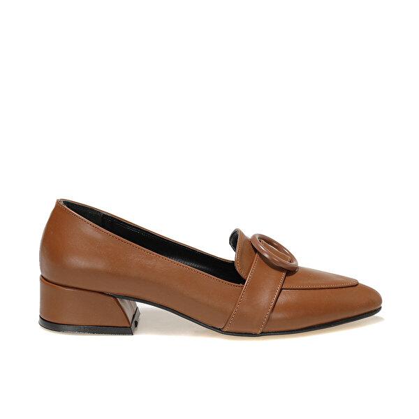 Butigo JENNY 1FX Taba Kadın Loafer Ayakkabı