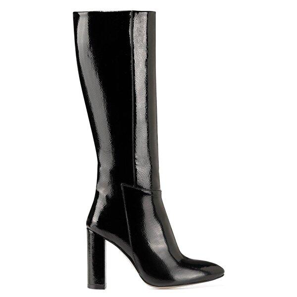 Nine West MIMA Siyah Kadın Ökçeli Çizme