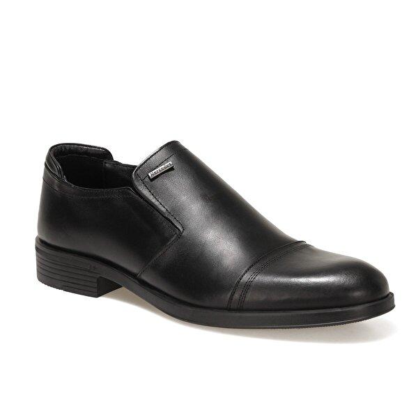 Mercedes AMOS 9PR Siyah Erkek Klasik Ayakkabı