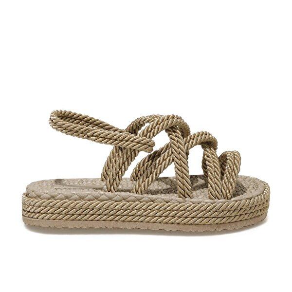 Butigo HAİLEY 1FX Naturel Kadın Sandalet