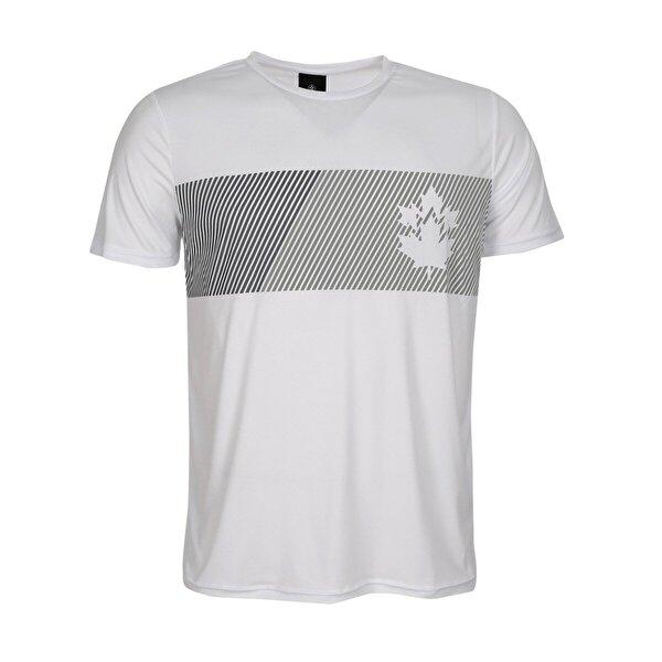 Lumberjack CT335 MIKE LOGO T-SHIRT Beyaz Erkek Kısa Kol T-Shirt